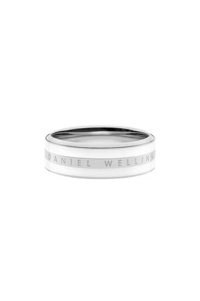 Daniel Wellington Classic Ring Satin White Silver 50