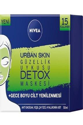 Nivea Detox güzellik Uykusu Maskesi - Urban Skin 50 ml