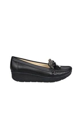 Punto Kadın Siyah Babet 572106