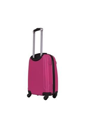 Laguna 2022 Abs Orta Boy Valiz Bavul Pembe