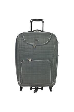 Escape  Gri 5 Tekerlekli Kabin Boy Bavul