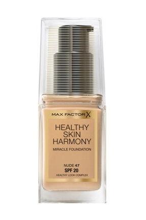 Max Factor Fondöten - Healthy Skin Harmony Miracle Foundation No: 47 Nude 8005610433240