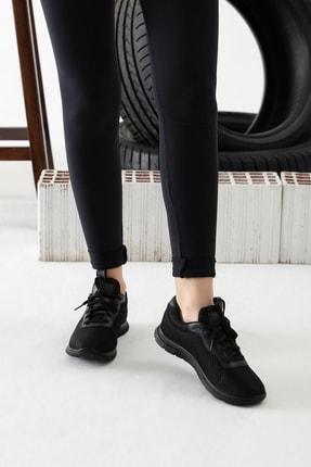 MP Siyah Kadın Sneaker MODAELYSA0993