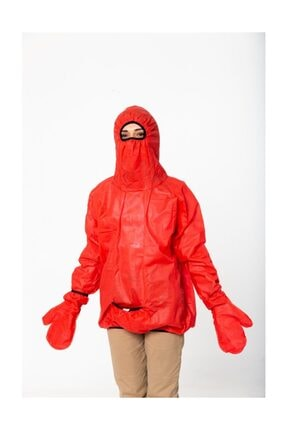Seamoda Fonksiyonel Yağmurluk-kırmızı