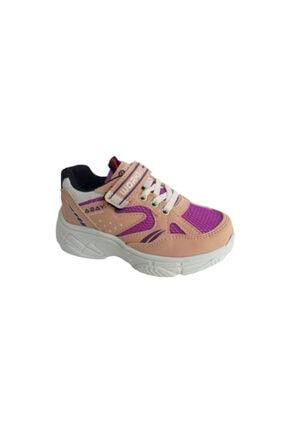 Pudra Rengi Kız Çocuk Spor Ayakkabı 5