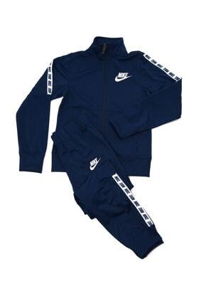 Nike Lacivert Unisex Çocuk Eşofman Takımı