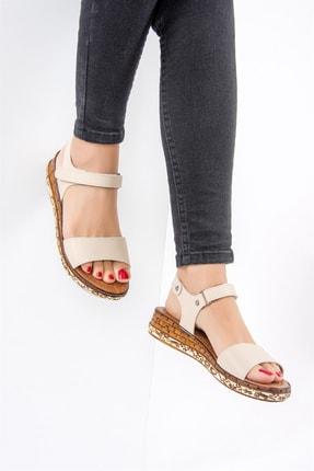 Fox Bej Kadın Sandalet F288061309
