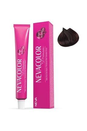 Neva Color Premium Tüp Saç Boyası 4.4 Orta Kestane 50 ml 2'li 8690057044007