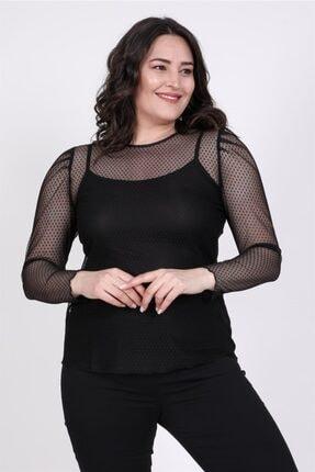 MYLİNE Prenses Kol Dantel Bluz