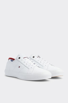 Tommy Hilfiger Erkek Core Corporate Flag Sneaker FM0FM02593