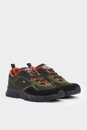 Tommy Hilfiger Erkek Fashion Mix Sneaker FM0FM02582