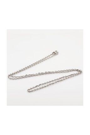 Chavin Kadın Çelik Kolye Zinciri  45 cm 1.5 mm ap81