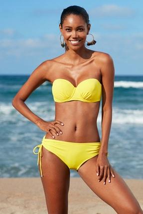 No Gossip Kadın Sürgülü Bikini Alt 209206 Sarı
