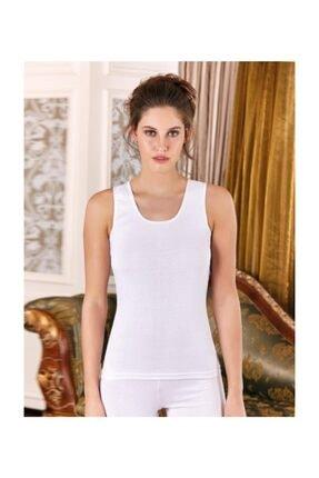 Berrak 3 Adet Beyaz Renk Kalın Askılı Atlet