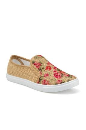 Polaris 315715.z Vizon Kadın Slip On Ayakkabı