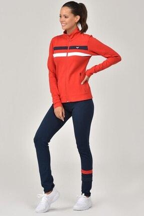 Bilcee Kırmızı Taytlı Kadın Eşofman Takımı FW-1445