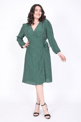 MYLİNE Kadın Anvelop Elbise