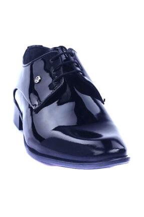Pierre Cardin Siyah Rugan Erkek Klasik Ayakkabı