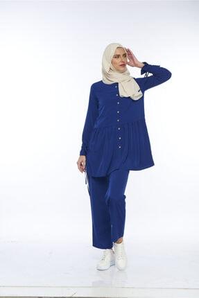 Allegro Gold Kadın Gömlek + Pantolon Seti