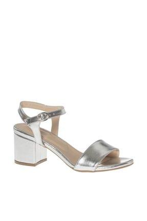 Graceland Deichmann Gümüş Rengi Kadın Topuklu Sandalet