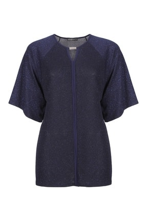 Butik Triko 3661 Simli Tokalı Bluz