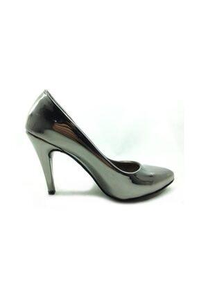 Almera Topuklu Kadın Ayakkabı - Platin - 700