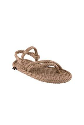 NOMADIC REPUBLIC Kadın Bej Cancun Halat & Ip Sandalet