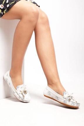 Ferre Kadın Babet Ayakkabı Beyaz