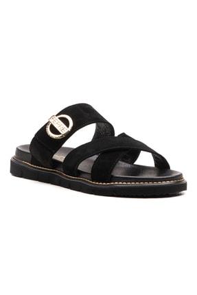 Ferre Sandalet Terlik Siyah