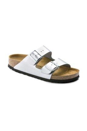 Birkenstock Arizona Terlik & Sandalet - Silver