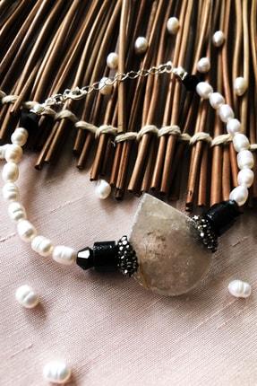 DR Stone 925 Ayar Gümüş Kadın El Yapımı Bileklik Lxdr26