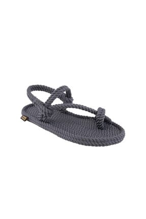 NOMADIC REPUBLIC Hawaii Kadın Halat & Ip Sandalet - Gri