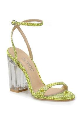 Butigo SELVI59Z CİLT Yeşil Kadın Sandalet