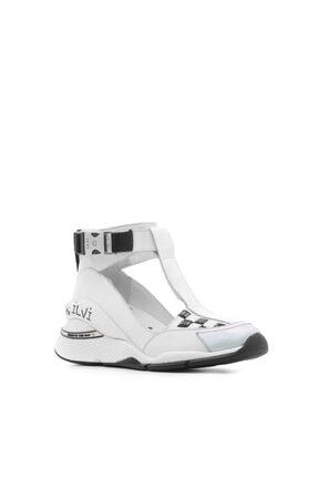 İlvi Kadın Spor Ayakkabı Gümüş Beyaz