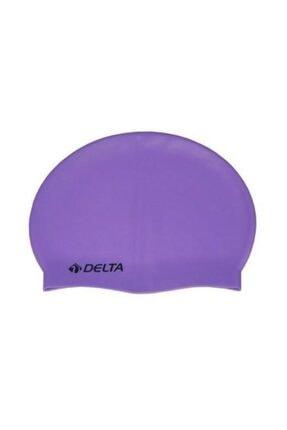Delta Silikon Bone 25 Adet Yüzücü Havuz Deniz Bonesi (Düz Renk)