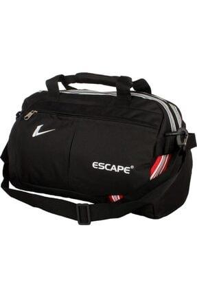 Escape  112 Yeni Sezon Büyük Boy Spor Seyahat Çantası Siyah