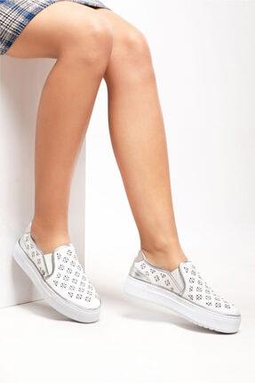 Ferre Günlük Ayakkabı Beyaz
