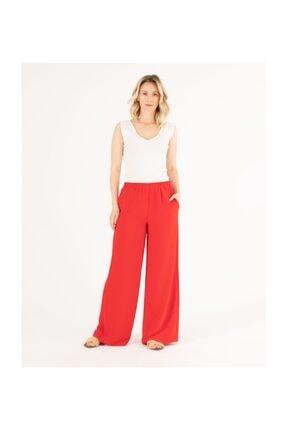 Seçil Kadın Kırmızı Pantolon
