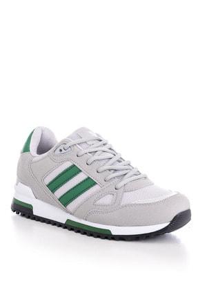 Tonny Black Unısex Spor Ayakkabı Gri Yeşil