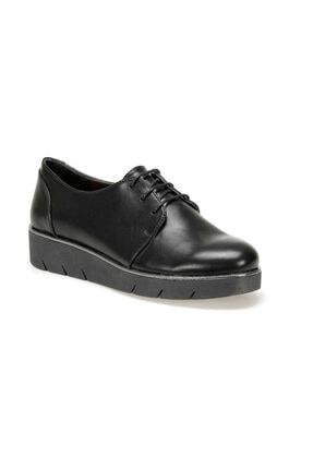 Travel Soft TRV920101 Siyah Kadın Dolgu Topuklu Ayakkabı