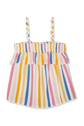 name ıt Kız Bebek Fransıne Strap Blouse T-Shirt