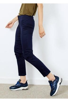 Cazador Kadın Lacivert Fermuarlı Pantolon