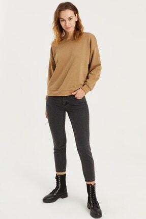 VENA Kadın Taba Sweatshirt