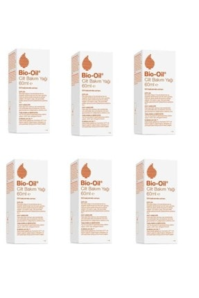 Bio Oil Yaşlanma Karşıtı Bakım Yağı 60 Ml*6 Adet
