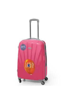 Yaygan Kadın Pembe 60cm Seyahat Valizi