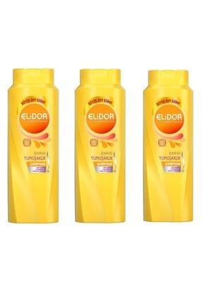 Elidor Ipeksi Yumuşaklık Saç Bakım Şampuanı 600 ml X 3lü Set