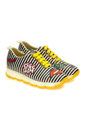 Goby Kadın Sarı Spor Ayakkabı