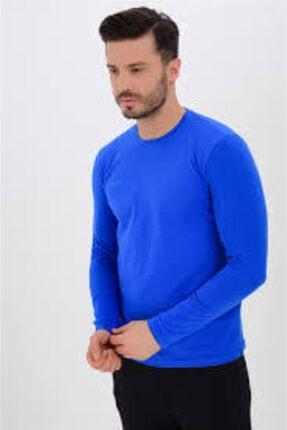Uhlsport Erkek  Mavi Olıs Uzun Kol Sweatshirt