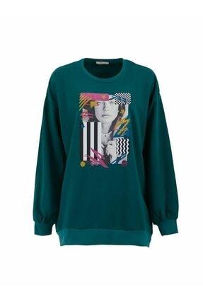 LTB Kadın Yeşil Sweatshirt  0112181012612730000