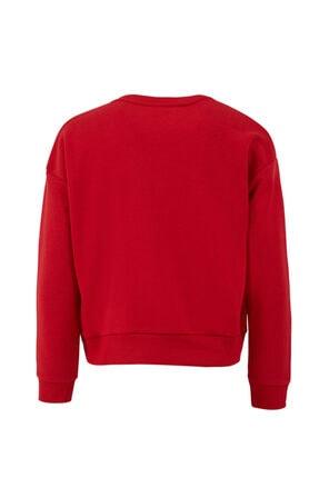 LTB Kadın Kırmızı Sweatshirt 0112181021608200000